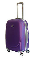 Чемодан Bonro Smile с двойными колесами (средний) фиолетовый