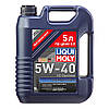 Синтетическое моторное масло Liqui Moly Optimal Synth SAE 5W-40 5л