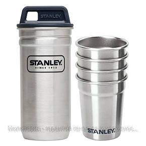 Туристический набор стопок Stanley Adventure 0,59ML Стальной (10-01705-017), фото 2
