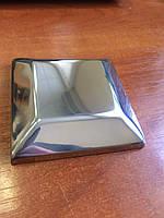 Декоративная крышка квадратная 80х80 без отверстия