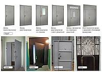 Двери сварные металлические всех видов.