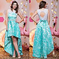 """Вечернее платье с асимметричной юбкой """"Виват"""", фото 1"""