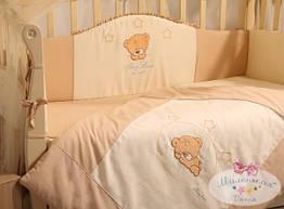 Комплект детского постельного белья Tiny Love 7 пр капучино