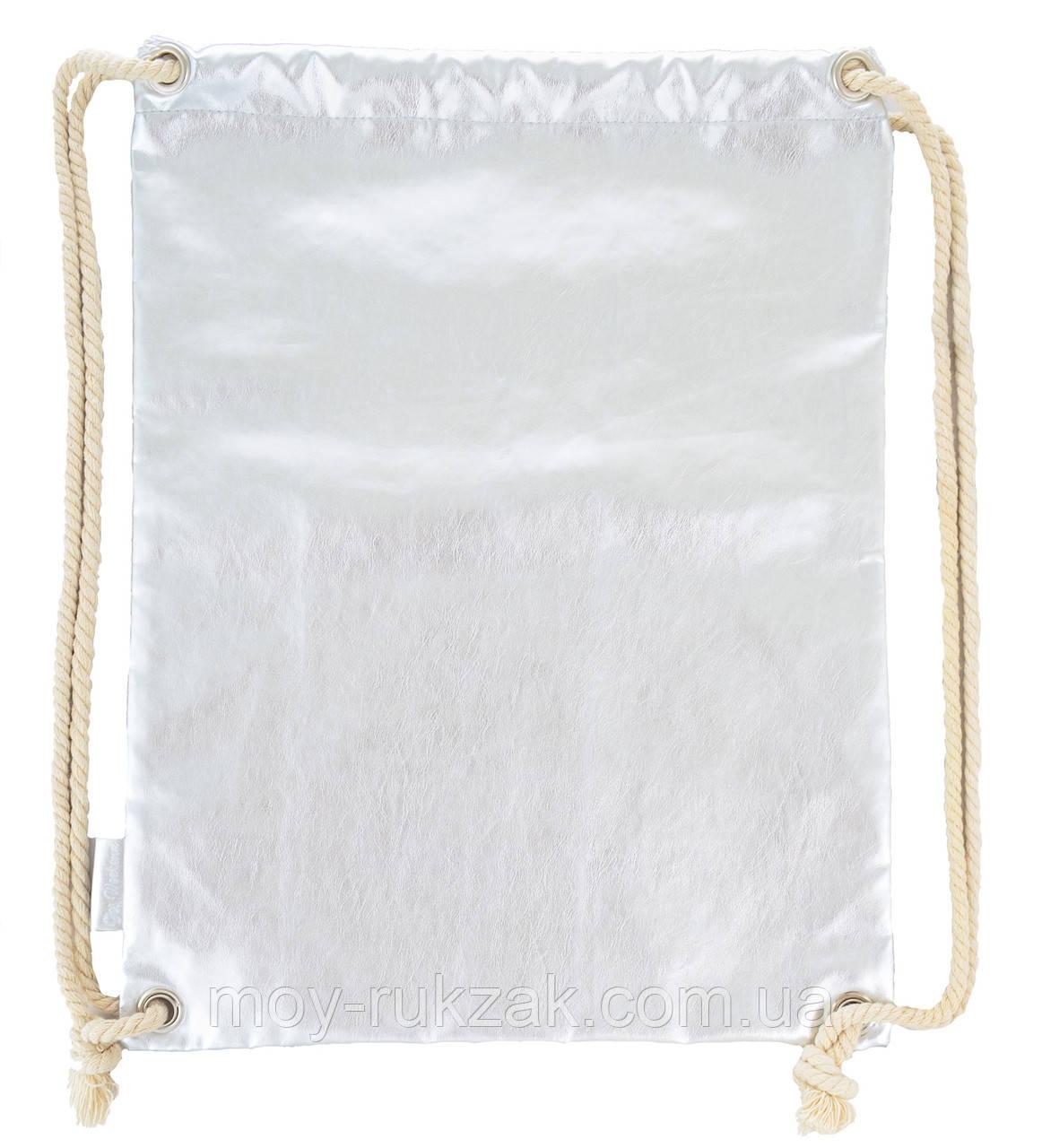 """Сумка - мешок Drawstring bag """"Silver"""" YES 555506"""