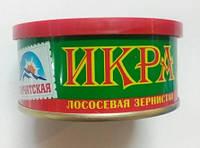 """Ікра лососева червона """"Камчатська"""" 100г перший сорт (1/24)"""