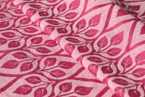 Слинг-шарф YAROSLINGS Yaro La Vita Rose-Natural Bourette (40% шёлка) (4,6 м)