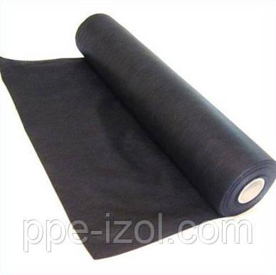 Агроволокно черное (Польша) пл. 50г/м2, (3,20м * 100м), агроволокно для клубники, спанбонд