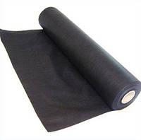 Агроволокно черное плотность 50г/м2, (3,20м * 100м), агроволокно для клубники, спанбонд