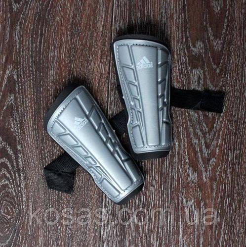 Щитки Adidas детские серые копия