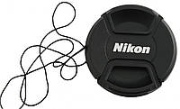 Крышка передняя для объективов NIKON - 58 мм