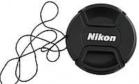 Крышка передняя для объективов NIKON - 62 мм