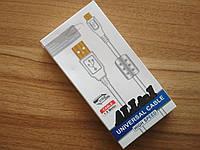 Шнур для зарядки медный Universal 3737 1.5 метра MicroUSB 3737
