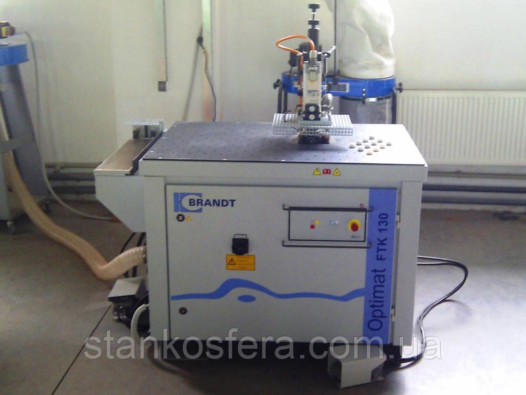 Кромкофрезерный станок Brandt FTK130/EK13 бу для кромки ПВХ (13г.)