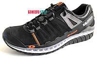 Мужские кожаные кроссовки Salomon Black 40,41,42,43,45р