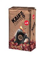 "Кава ""Кайф 100%"" мелена №8 250г брикет (1/18)***"