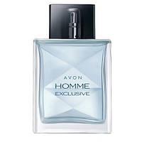 Avon Homme Exclusive 75 ml мужская туалетная вода (Эйвон Хом Эксклюзиве)