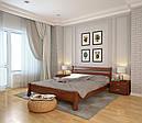 Ліжко односпальне з натурального дерева в спальню/дитячу Венеція (Сосна, Бук) Арбор Древ, фото 3