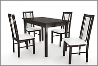 Столи з кріслами на 4 особи. Comfort 52