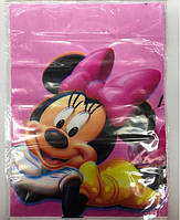 Пакет подарочный 30*22 см Минни Маус полиэтилен