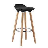 Барный стул деревянный Home4You ABBA  Black