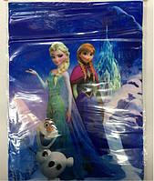 Пакет подарочный 30*22 см Холодное Сердце полиэтилен