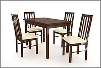Комплект Стіл + 4 крісла. Comfort 17