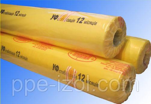 Пленка тепличная с УФ-стабилизацией 12 месяцев 60мкн. 6м/ширина(3м/рукав х50м)