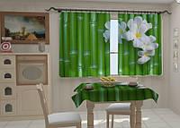 """Фото штора """"Бамбук в кухне"""" 150 х 250 см"""
