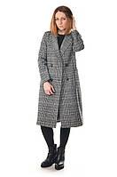 Пальто женское шерстяное в клетку Max Mara