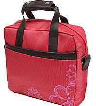 """Женская деловая сумка для нетбука, планшета до 12"""" Professional S924.24 красный"""