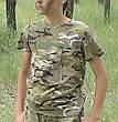 Комплект Лесоход костюм кепка футболка камуфляж Мультикам, фото 2