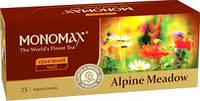 """Чай """"МОНОМАХ"""" 25ф/п*1,3г Alpine Meadow Трав'яний (Альпійські луки) з/я (1/18)"""