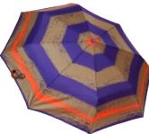 Женский складной зонт автомат (фиолетовый), фото 1