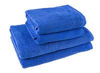 """Полотенце (50х90 см) махровое """"Отель"""", спец.качество, синее"""