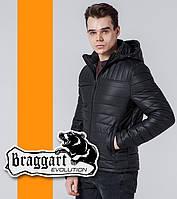 Куртка демисезонная мужская Braggart - 3357B черный