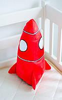"""Подушка маленькая """"Ракета"""", фото 1"""