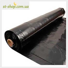 Пленка черная 1,5 м рукав 3 м в развороте (100 мп в рулоне)