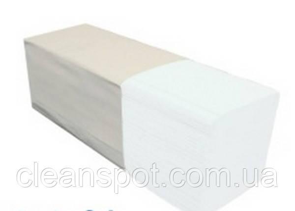 Полотенца бумажные PZ33 Merida белые двухслойные