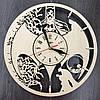 Часы настенные из натурального дерева 7Arts Batman style CL-0020, фото 2