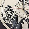 Часы настенные из натурального дерева 7Arts Batman style CL-0020, фото 3