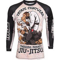 Рашгард Tatami Replika Thinking monkey L/S Принт - S