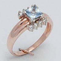 Женское кольцо с цирконием 11760