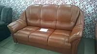 """Трехместный кожаный диван """"Roma"""""""