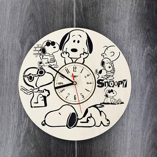 Детские настенные часы 7Arts Снупи CL-0059