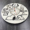 Детские настенные часы 7Arts Снупи CL-0059, фото 2