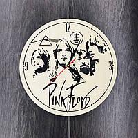 Бесшумные настенные часы из дерева 7Arts Pink Floyd CL-0062