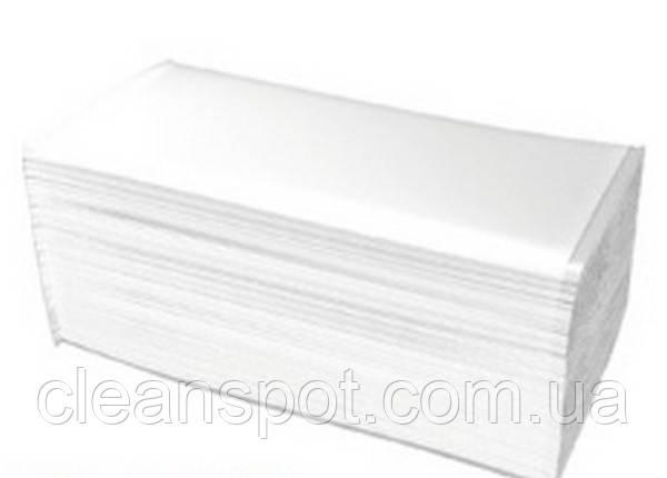 Полотенца бумажные PZ15_IT Merida Ideal белые двухслойные