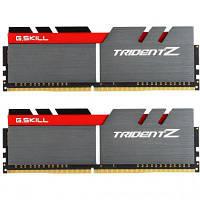 Модуль памяти для компьютера DDR4 16GB (2x8GB) 3200 MHz Trident Z Black G.Skill (F4-3200C16D-16GTZ)