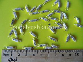 Закрутка Срібло 8*3 мм