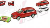 Машинка железная инерционная Audi Q7 68249: 1:24, открываются двери/капот/багажник + свет/звук